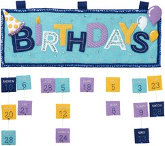 Bucilla Felt Applique Wall Hanging Kit-Birthday Calendar - $51.91