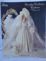 "Paradise Crochet 11 1/2"" Doll Pattern 1904 GIBSON GIRL BRIDE P-030 - $10.84"