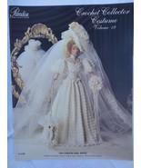"Paradise Crochet 11 1/2"" Doll Pattern 1904 GIBSON GIRL BRIDE P-030 - $10.84"