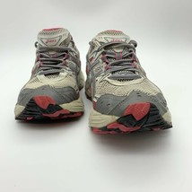 ASICS Women's Running Shoes Pink, Gray, And Whire Size 7 - $11.88