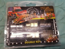 Dr Tire Spinner Type Wheel Locks Double Key 12 x 1.5 New in Packaging - $26.19