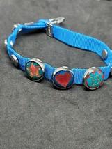 Mogo Charm Bracelet Blue Cloth M Heart B Magnetic Jewelry Unisex Style F... - $7.37