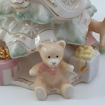 Lenox Holiday Traditions Christmas Tree Centerpiece Figurine Pastel image 2