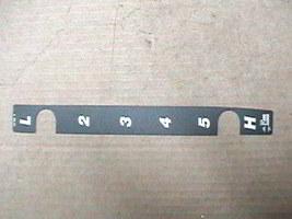 MTD Gear Selector Decal 777I20788 - $0.60