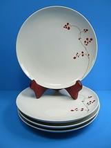 "MIkasa Gourmet Basics RED BERRIES IND01016 Salad Plates 8.25"" Set of 4 - $31.68"