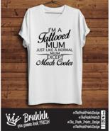 Mum Tattoo T Shirt Mothers Day Birthday Love Present Tumblr Hipster Unis... - $13.11