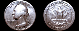 1943-P Washington Quarter Silver - $11.49