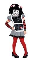 Gothic Ragdoll Costume, Small 4/6 - $18.64
