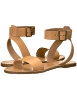 Madewell Brown Broadwalk Ankle Strap Sandals In Color NATURAL BUFF  Sz 8... - $46.99