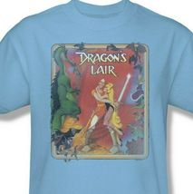 Dragons Lair t-shirt Dirk & Princess Daphne 80's retro arcade graphic tee DRL106 image 3