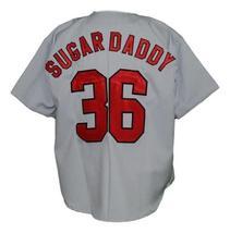Custom Name # Havana Sugar Kings Baseball Jersey Button Down Grey Any Size image 2