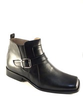 Marco Rossi MRB1 Black Men's Ankle Boots Size 10.5 - $47.20