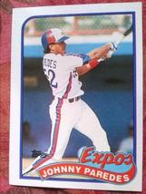 Baseball Topps 1987 #367 Johnny Paredes Expos - $0.99