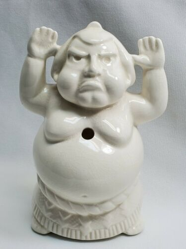 Primary image for Vintage Benihana of Tokyo Sumo Wrestler White Ceramic Tiki Mug Japan