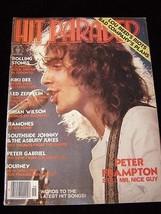 Hit Parader September 1977 Peter Frampton Rolling Stones Led Zeppelin Ra... - $16.99