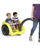 Simplay3 Deluxe 2 Wheel Chariot Style Toddler Child Wagon Hiking Carrier... - $125.16