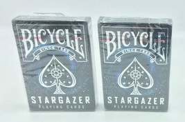 Lot of 2x Bicycle Premium Playing Cards- Stargazer Themed - $11.99