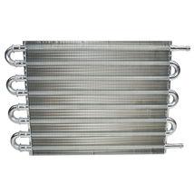 "3/8"" Universal Aluminum Transmission Oil Cooler 15-1/2"" x 10"" x 3/4"" image 3"