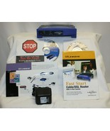 Linksys EtherFast 4-Port Cable/DSL Router, BEFSR41 ver. 2 w/ power Adapter - $9.89