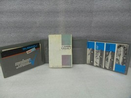 1990 Subaru Legacy Owners Manual Set 17048 - $16.78