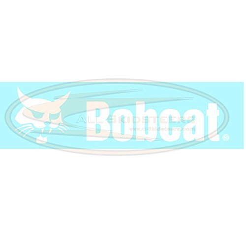 Back Door Decal for Bobcat Skid Steers | Replaces OEM # 6735901