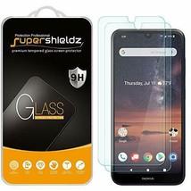 (2 Pack) Supershieldz for Nokia 3V (3 V) Tempered Glass Screen Protector... - $11.63