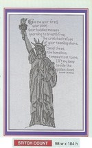 THE STATUE OF LIBERTY  -  CROSS STITCH PATTERN ONLY  HM - SUV - $6.39