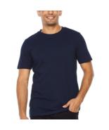JF J.Ferrar Slim Mens Crew Neck Short Sleeve T-Shirt New Size S, M Navy - $12.99