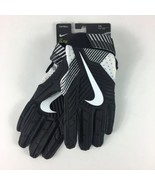 Nike D‑Tack Padded Lineman Football Gloves Black GF0634-091 Men's XXL New $65 - $39.59