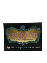 CASINO NIGHT SET - CHIPS, CARDS, GAMING MAT, DICE & MORE (New In Box) - $17.72