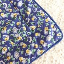 Laura Ashley Polyanthus Standard Pillow Sham Primrose Priory Blue Yellow... - $278,88 MXN