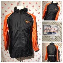 Baltimore Orioles Youth L MLB Spring Starter Black Orange Light Jacket A3275 - $39.19