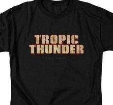 Tropic Thunder t-shirt 2008 action comedy film Ben Stiller graphic tee PAR218 image 2