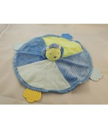 Carter's Blue Lion Teether Lovey Security Blanket Stuffed Animal Toy - $8.95