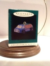 Hallmark Miniature On The Road #4 - Cargo Truck - 1996 - QXM4101 - Mint - $3.95