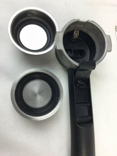 Delonghi Porta Filter Holder Espresso Machine Part for EC702 EC155 BAR32 ECO310 image 8