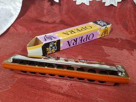 VINTAGE 50'S Opera Harmonica - Made in Germany in Original Box image 4