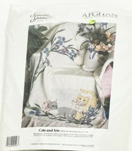Something Special Cats and Iris Counted Cross Stitch Afghan Kit #50546 - $59.40