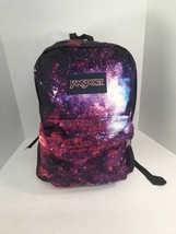 JanSport High Stakes Student Intergalactica Unisex Backpack TRS7 Galaxy EUC - $21.77
