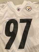Pittsburgh Steelers Replica Jersey Size 2XL Reebok On Field #97 Bell - €11,90 EUR