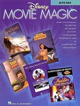 Disney Movie Magic: Alto Sax Instrumental Solos [Paperback] Hal Leonard Corp.