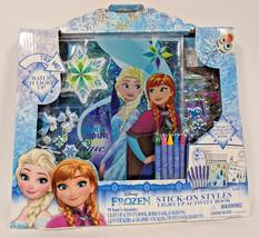 Disney FROZEN Stick-on Styles LIGHT UP Activity Book - $14.84