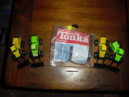 Lot of 6 Mcdonalds Happy Meal Toys 1992 and 1994 Tonka Loaders and bull ... - $18.80