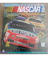 Papyrus NASCAR racing computer game 1996 Ms-DOS 5.0+ CD-ROM Sierra race ... - $26.68