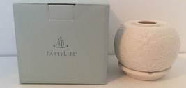 PartyLite Illuminescents Snowflakes Candle Oil Holder P90453 With Original Box - $14.84