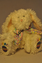 "White Rabbit - Easter Egg Ribbon - 12"" Plush - $15.55"