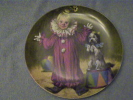1982 TOMMY THE CLOWN PLATE,1ST.ISSUE JOHN MC CLELLAND - $52.25