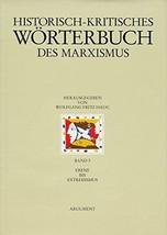 Historisch-kritisches Wörterbuch des Marxismus.: Ebene bis Extremismus: Ebene bi image 1