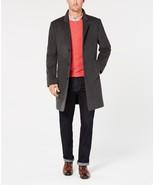 New NWT 46L 46 Long L Mens Over Coat Michael Kors Wool Cashmere Dark Gra... - $315.60