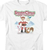 Santa Claus is Comin to Town Retro 70's Christmas TV Special Graphic tee DRM137 image 3